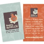 Sutecchi Business Card/Hang Tag